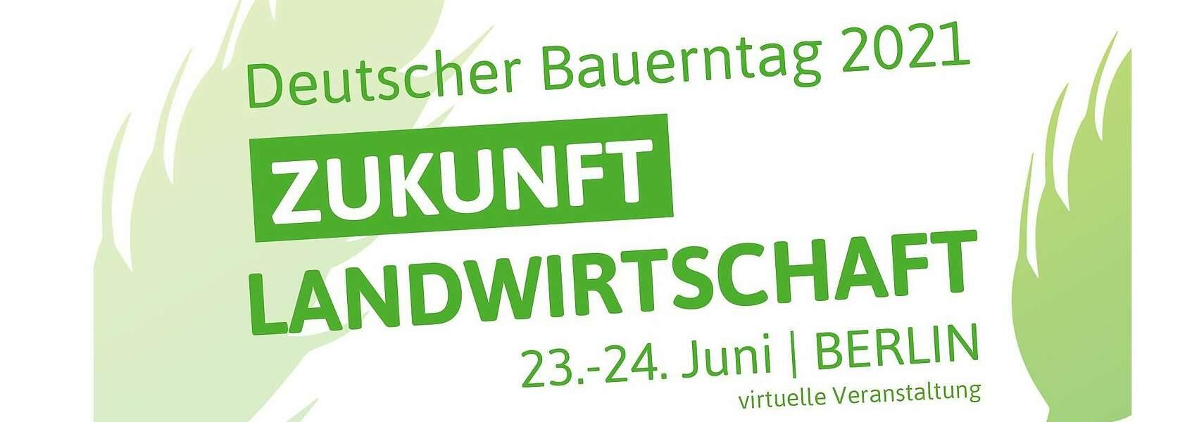 Deutscher Bauerntag 2021